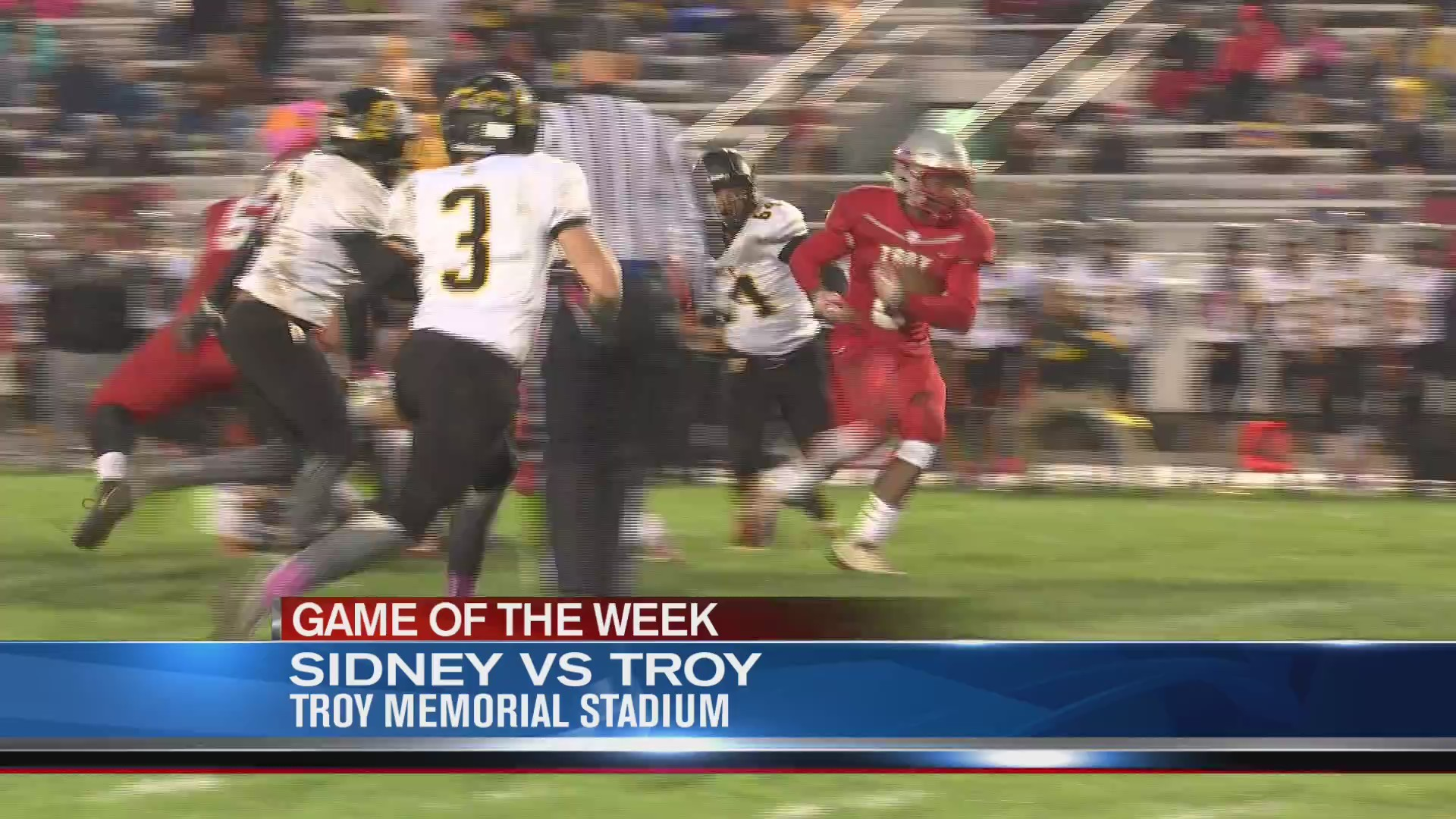 Operation Football Game of the Week 8: Sidney at Troy