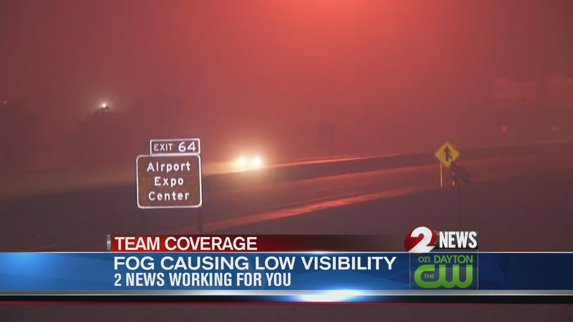 Fog blankets Miami Valley Friday morning