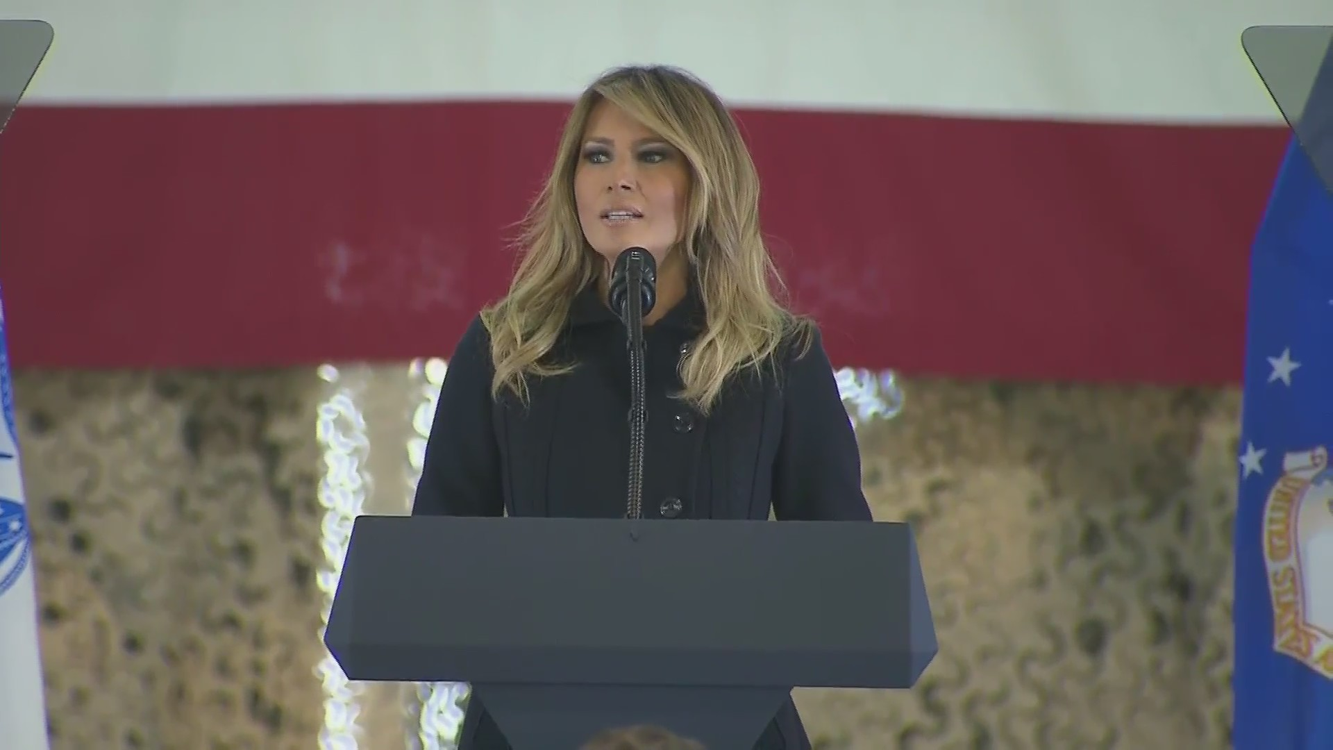 First Lady Visits Military Families