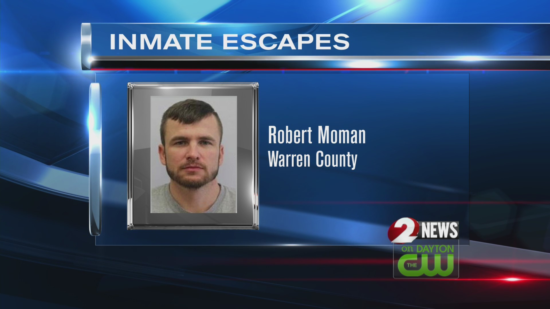 Inmate escapes in Warren County