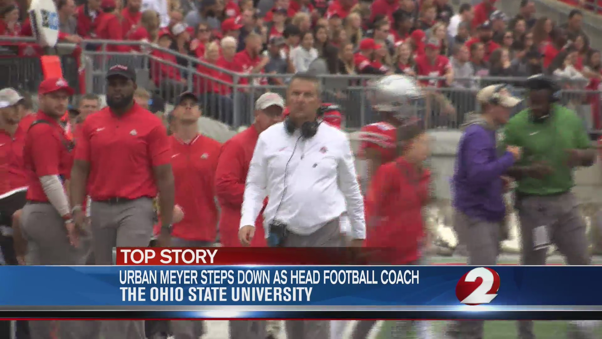 Urban Meyer steps down as head football coach