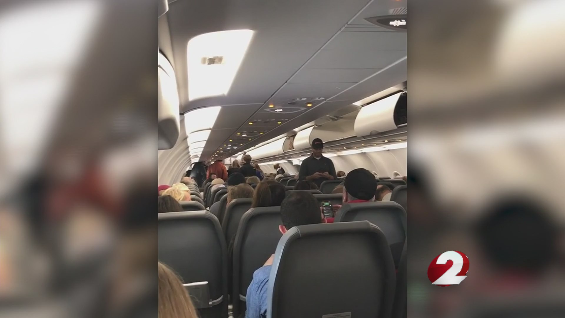 6 passengers fall ill on flight from Cleveland to Tampa
