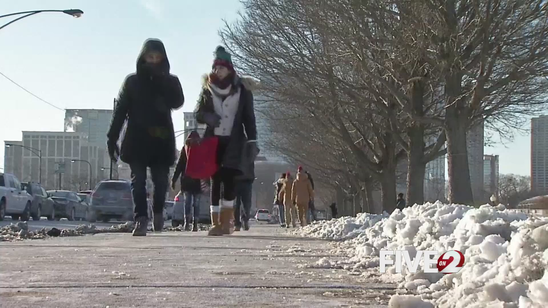 Dangerous wind chills means potential cold weather injuries