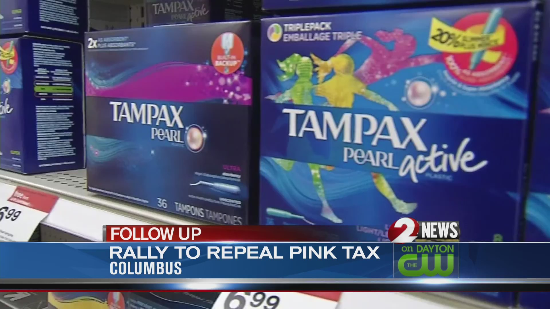 Rally to repeal Pink Tax