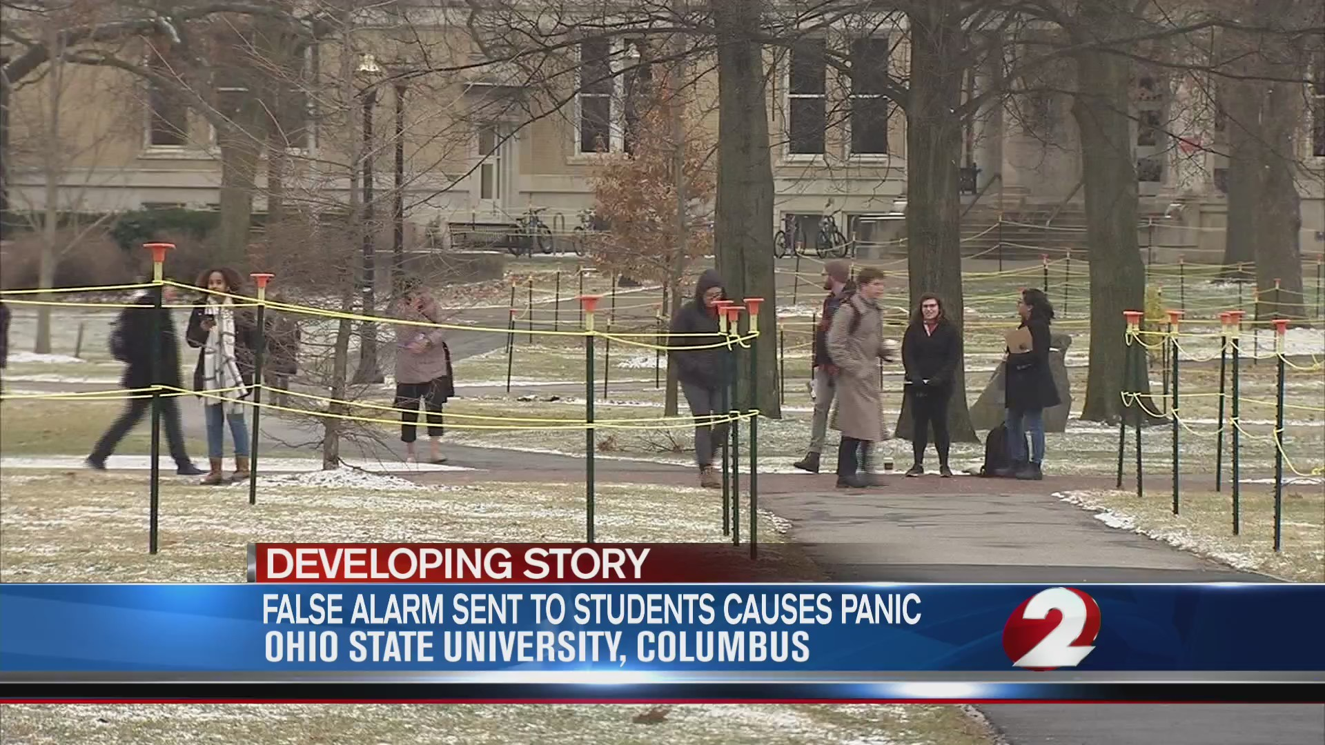 Emergency alert warning of 'active aggressor' accidentally sent to OSU students