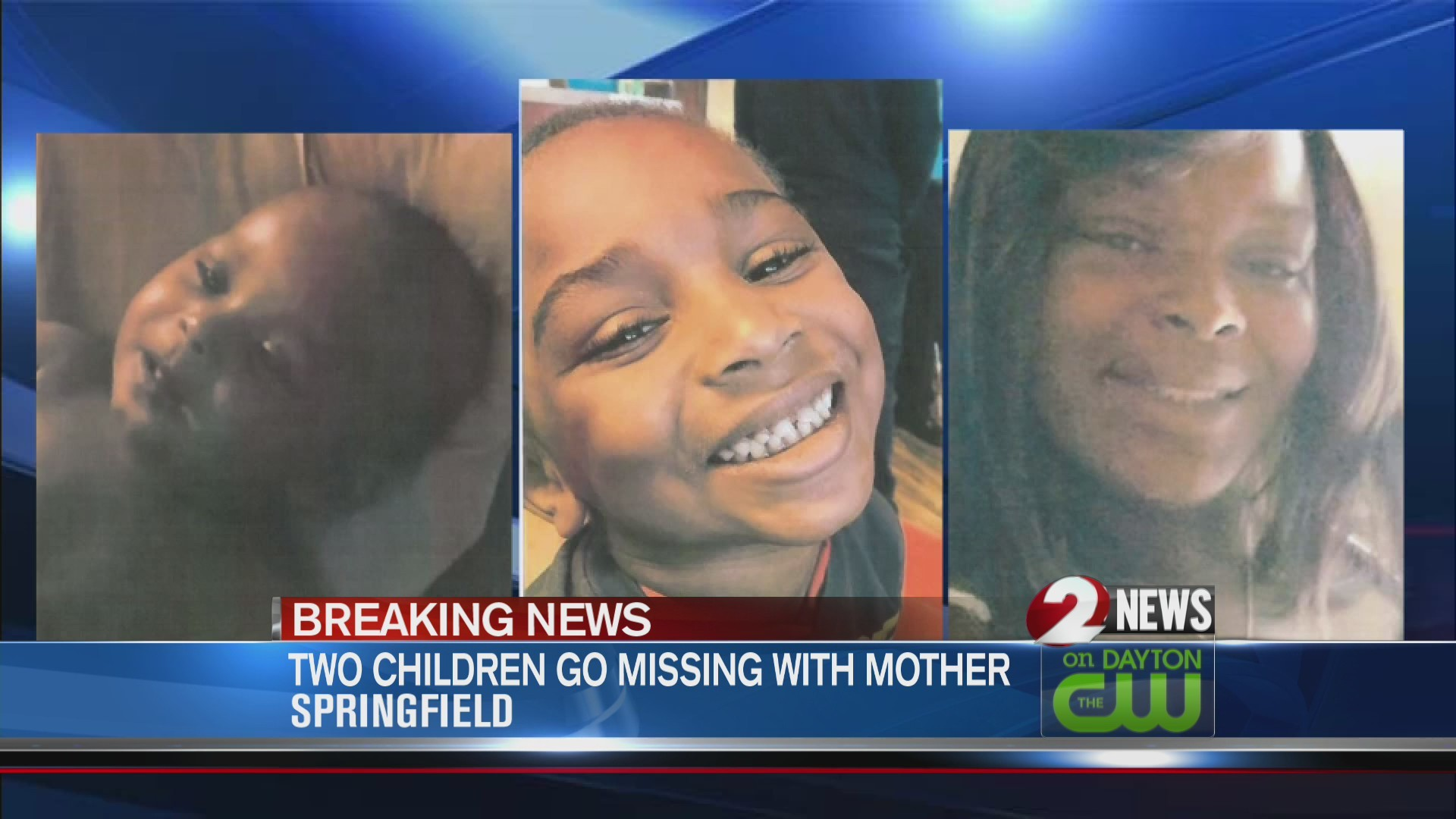 Two children missing from Springfield