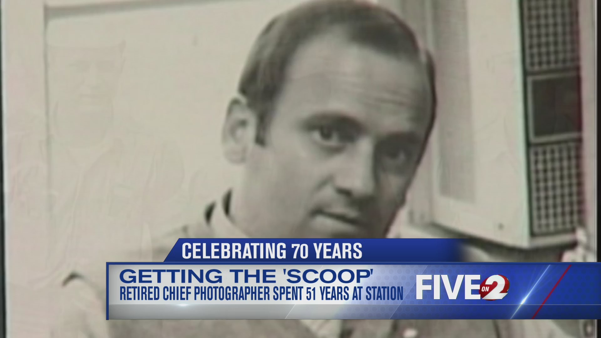 Getting the 'Scoop:' Retired Chief Photographer spent 51 years at WDTN