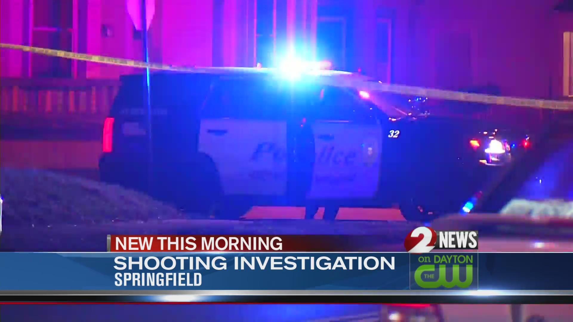 Man found shot in Springfield street