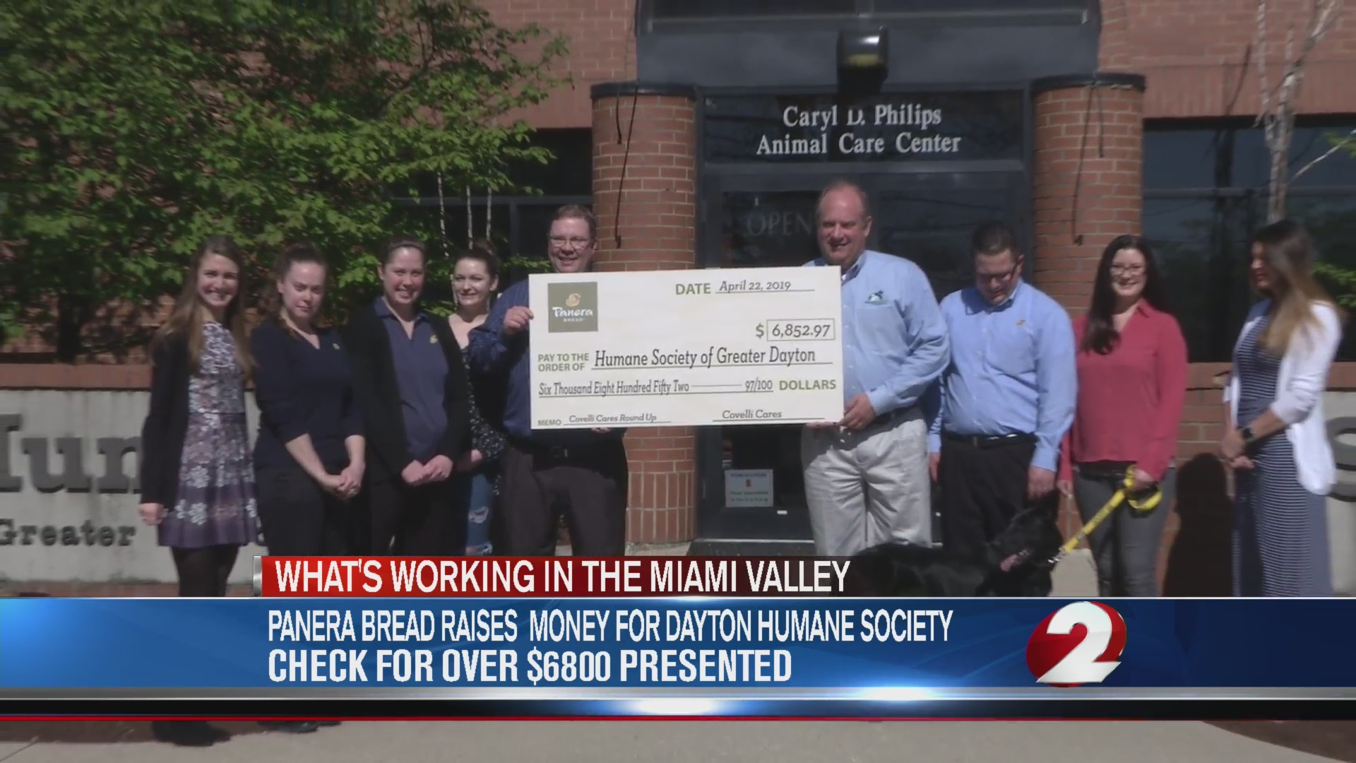 Panera raises money for Humane Society