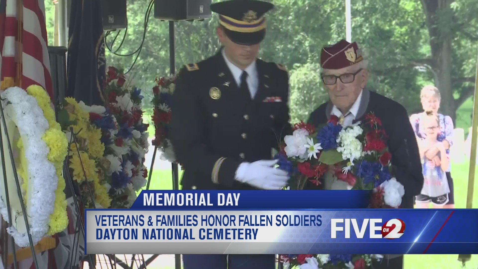 Dayton VA Memorial Day Ceremony