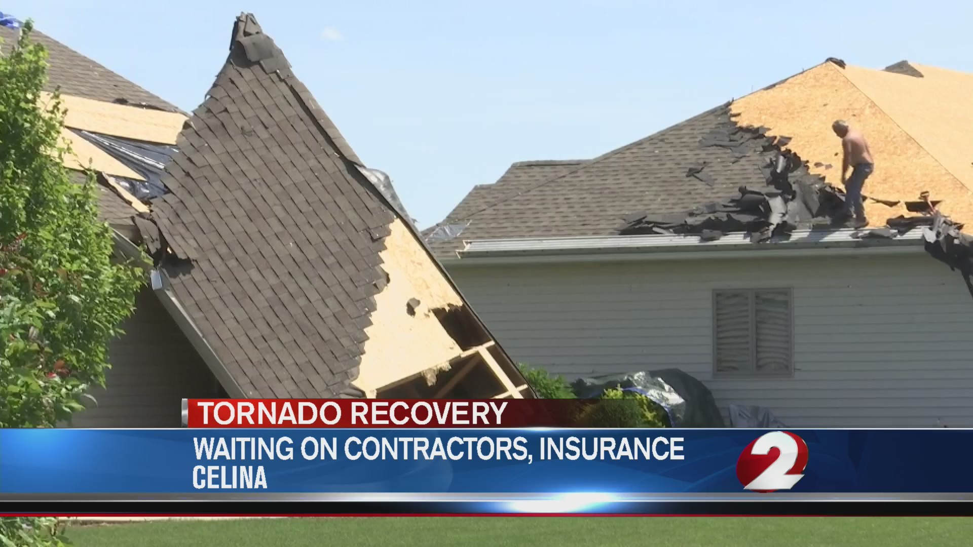 Celina residents face uphill battle with home repairs after tornado outbreak