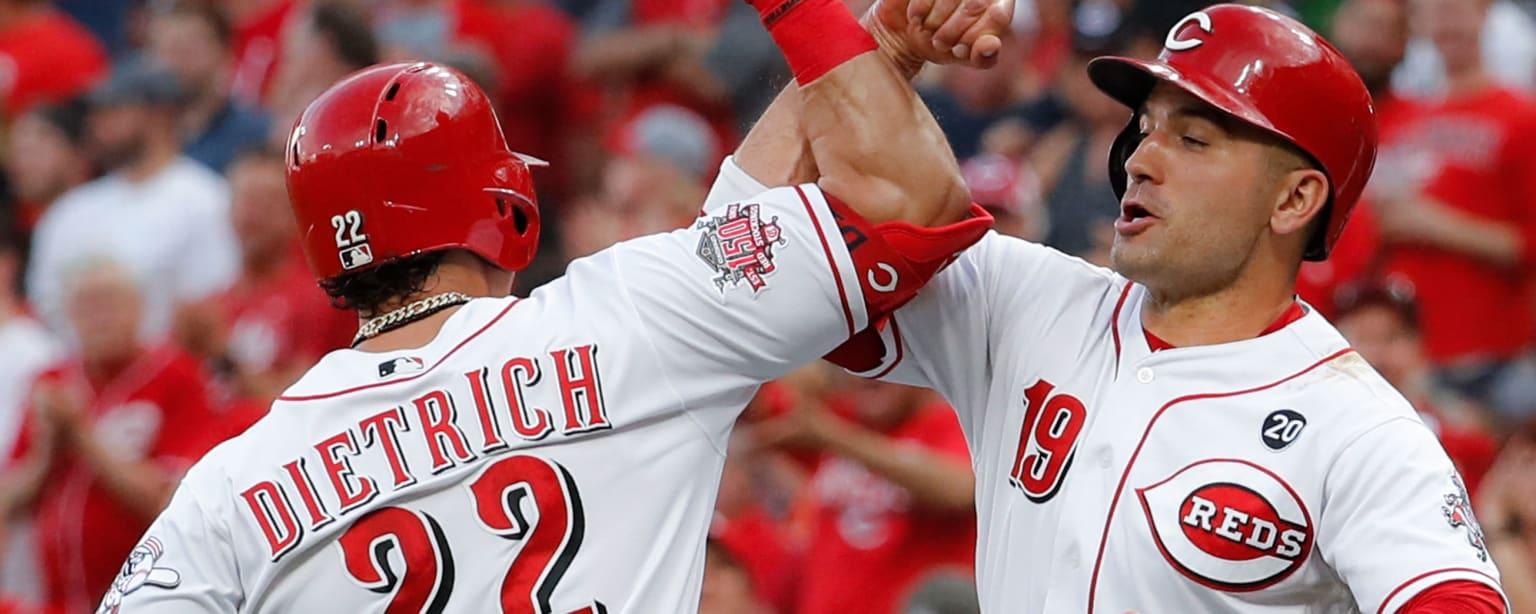 Reds Astros 6-18