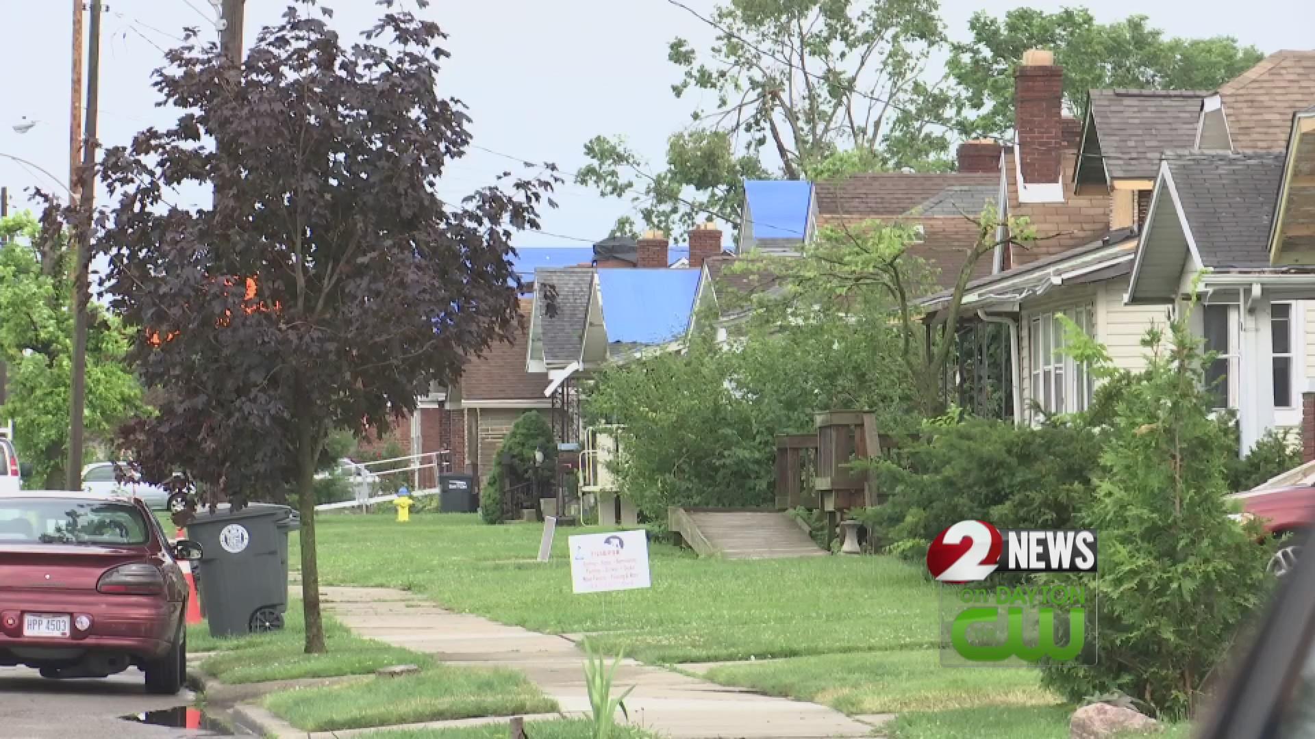 Dayton tornado cleanup