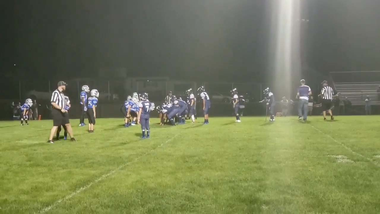 9-10 Miamisburg vs Kettering inspirational play