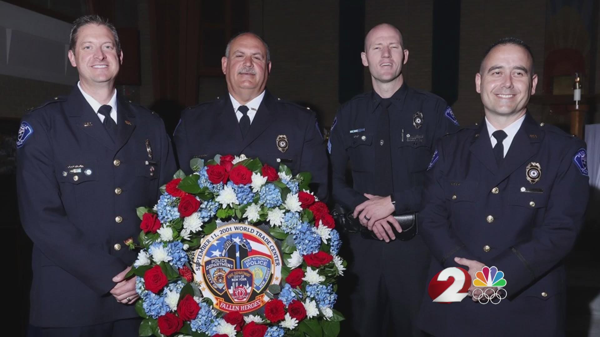 Vandalia officer honored