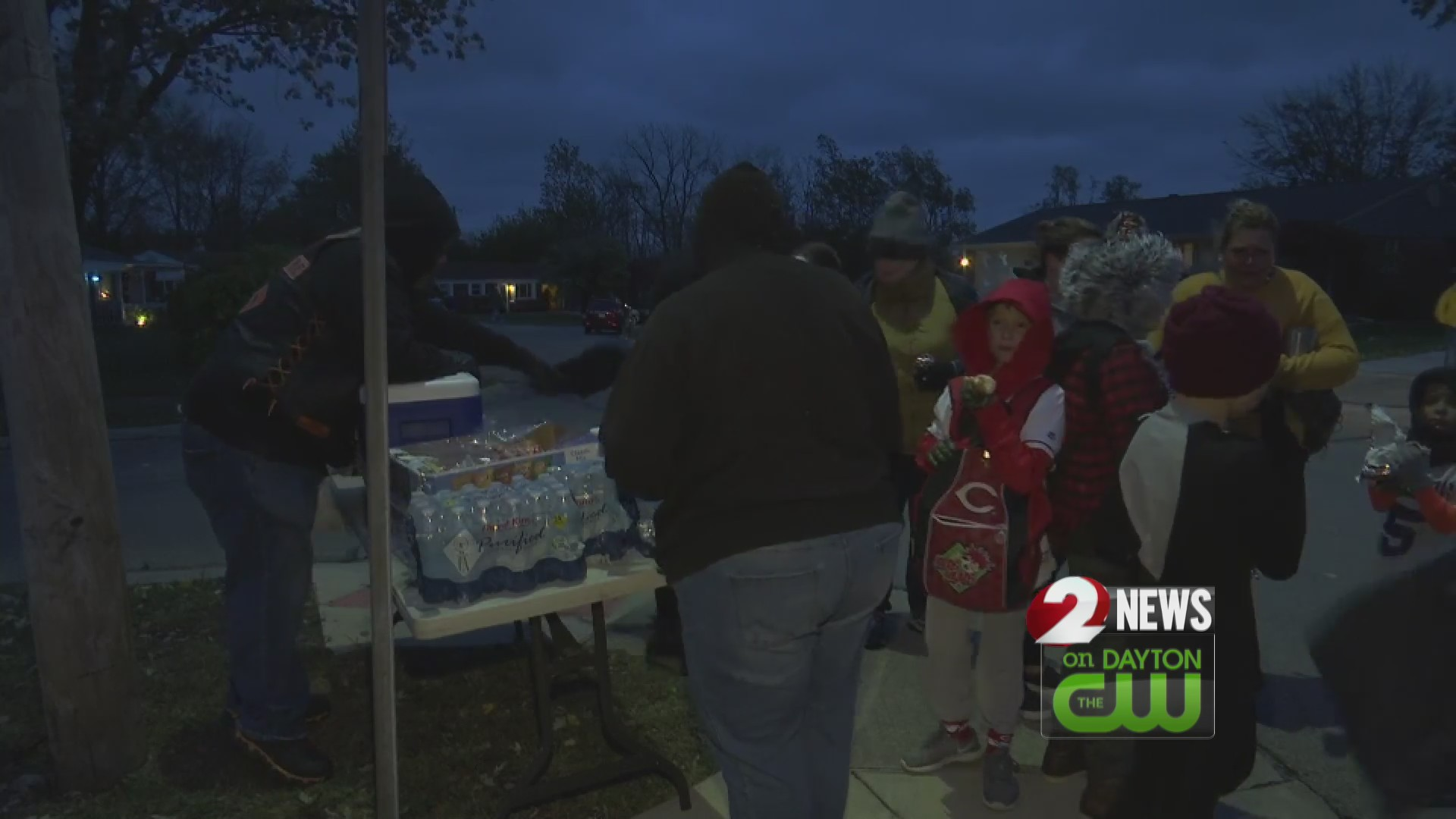 Tornado survivors celebrate Halloween in Brookville