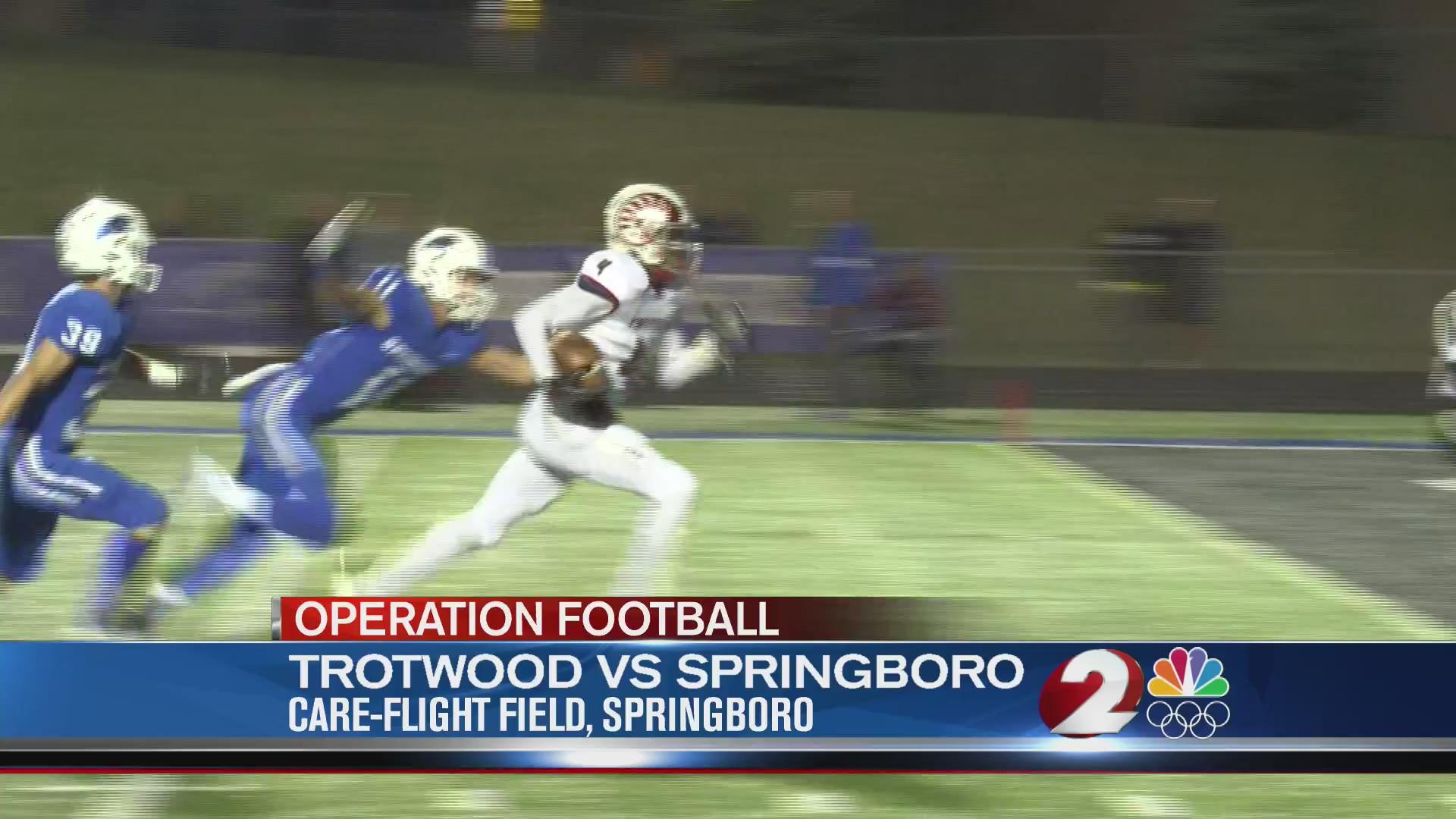 Trotwood vs Springboro