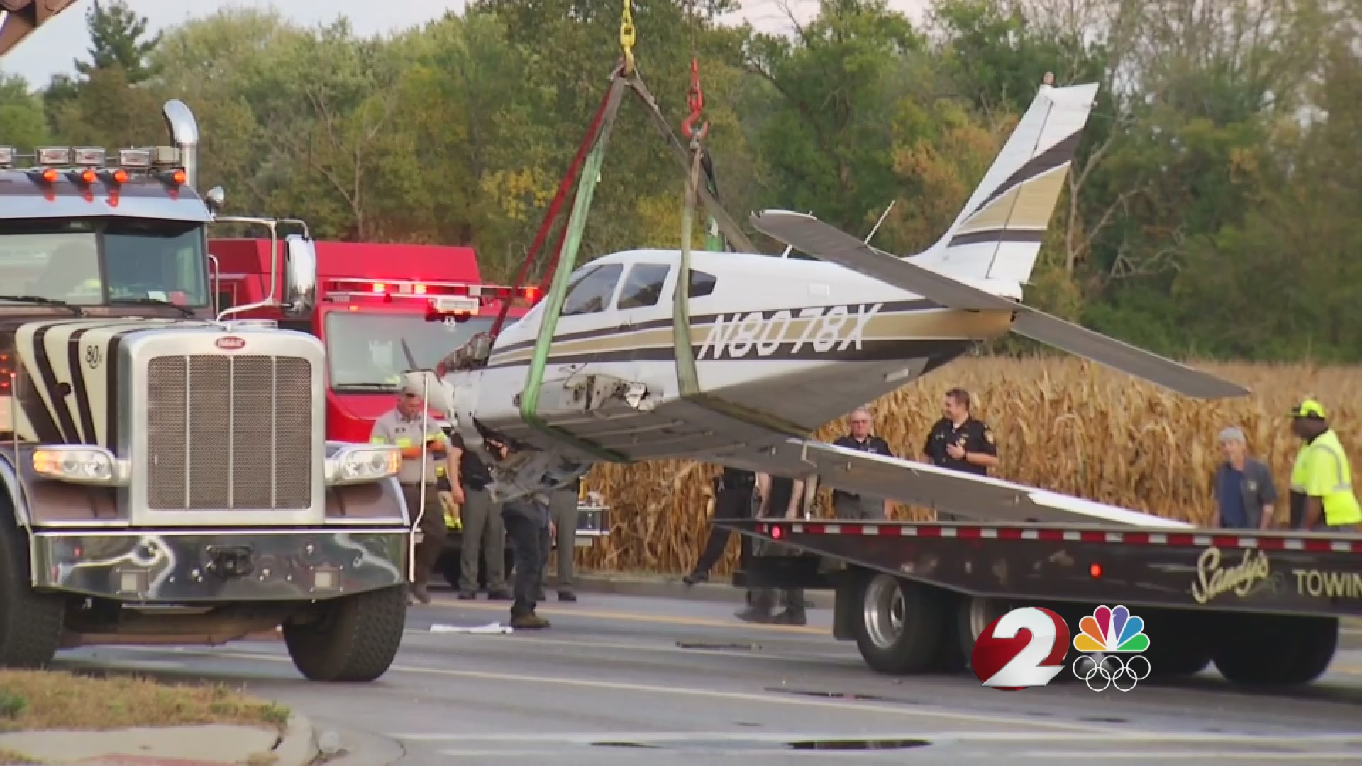 Witness talks about close call with plane in Washington Twp.