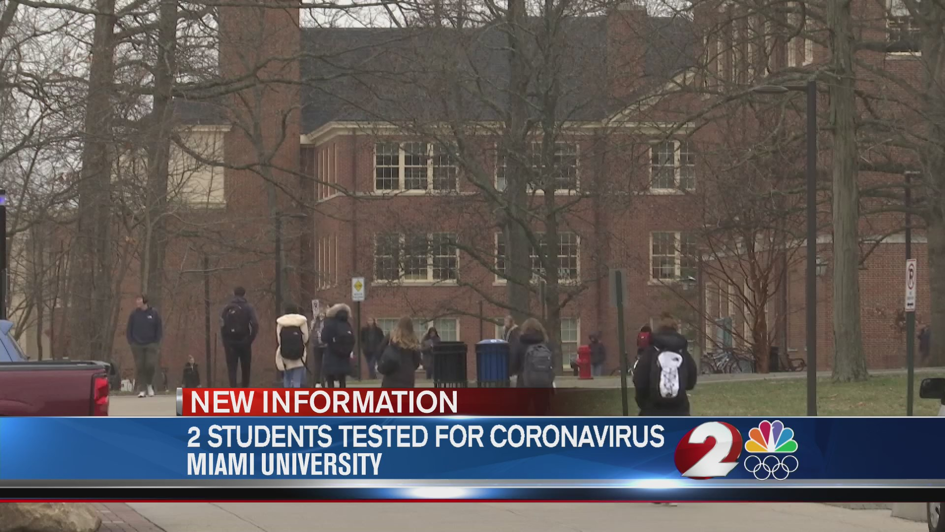 2 students tested for coronavirus