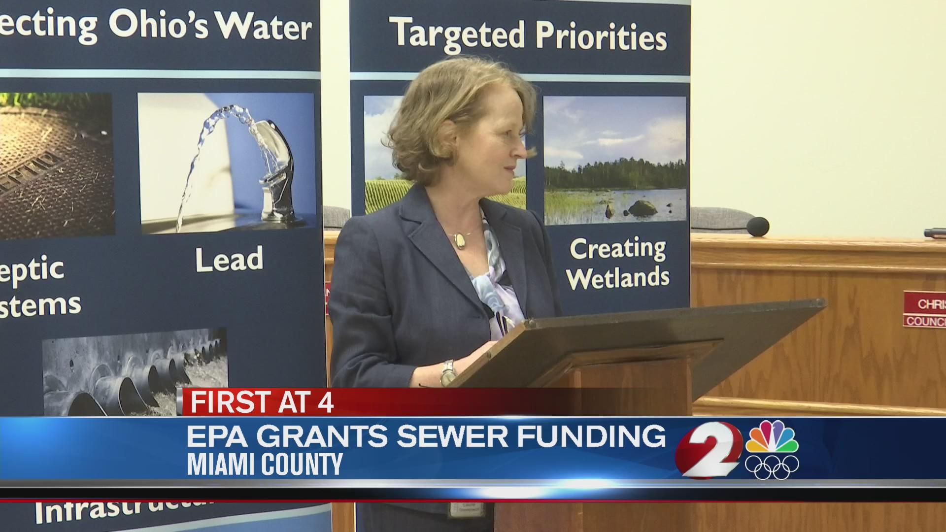 EPA sewer funding