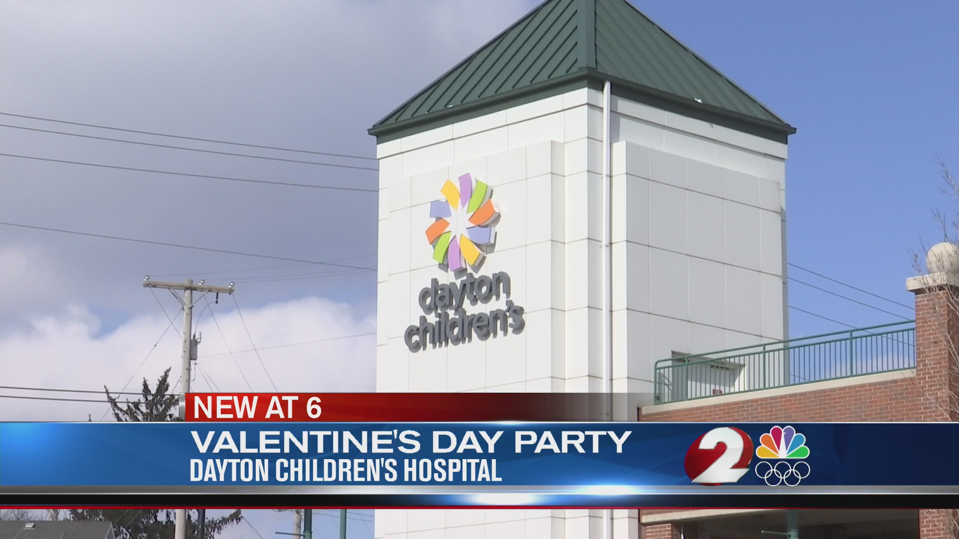 Special Valentine's Day party held at Dayton Children's