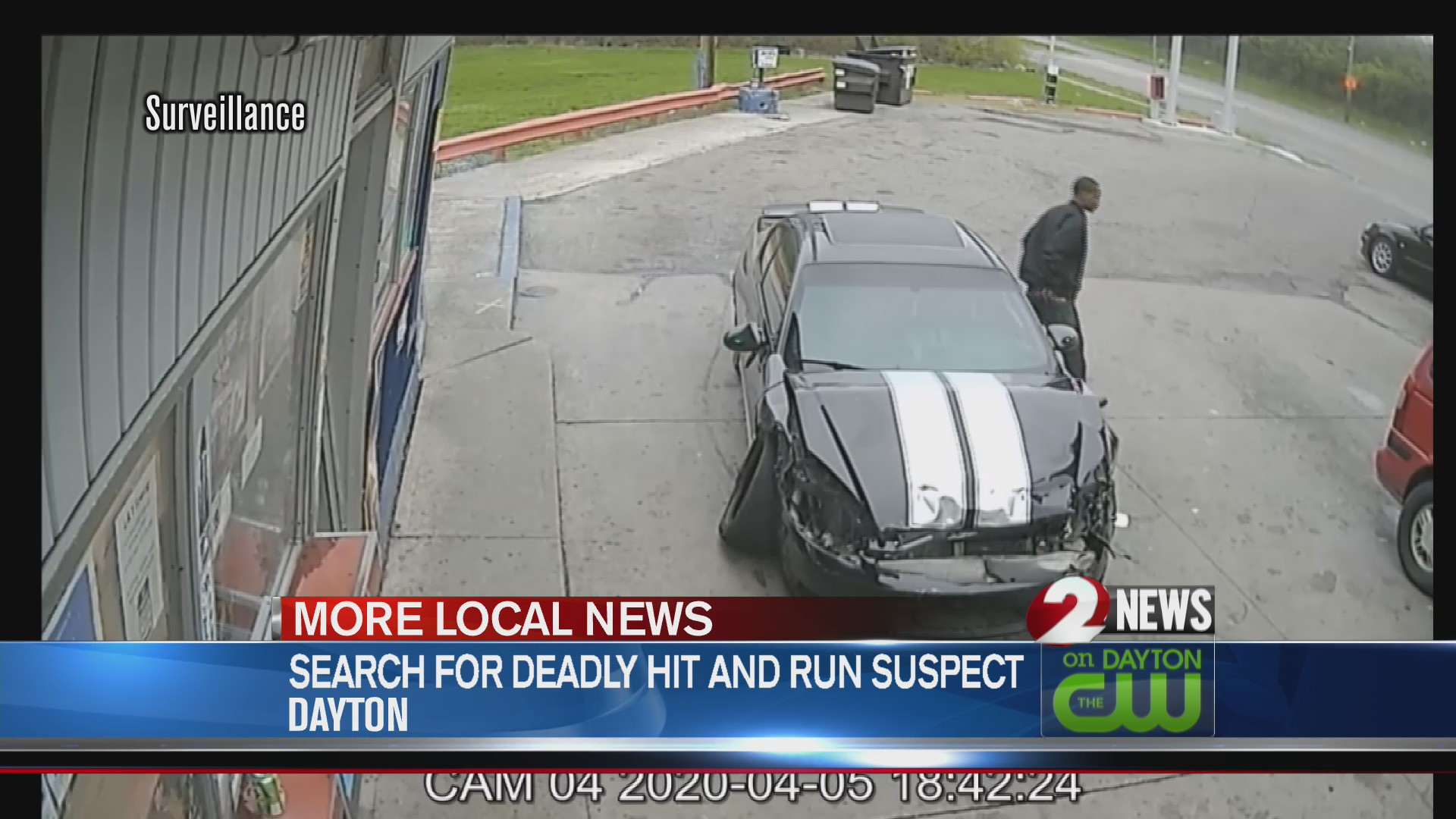Search for hit and run suspect