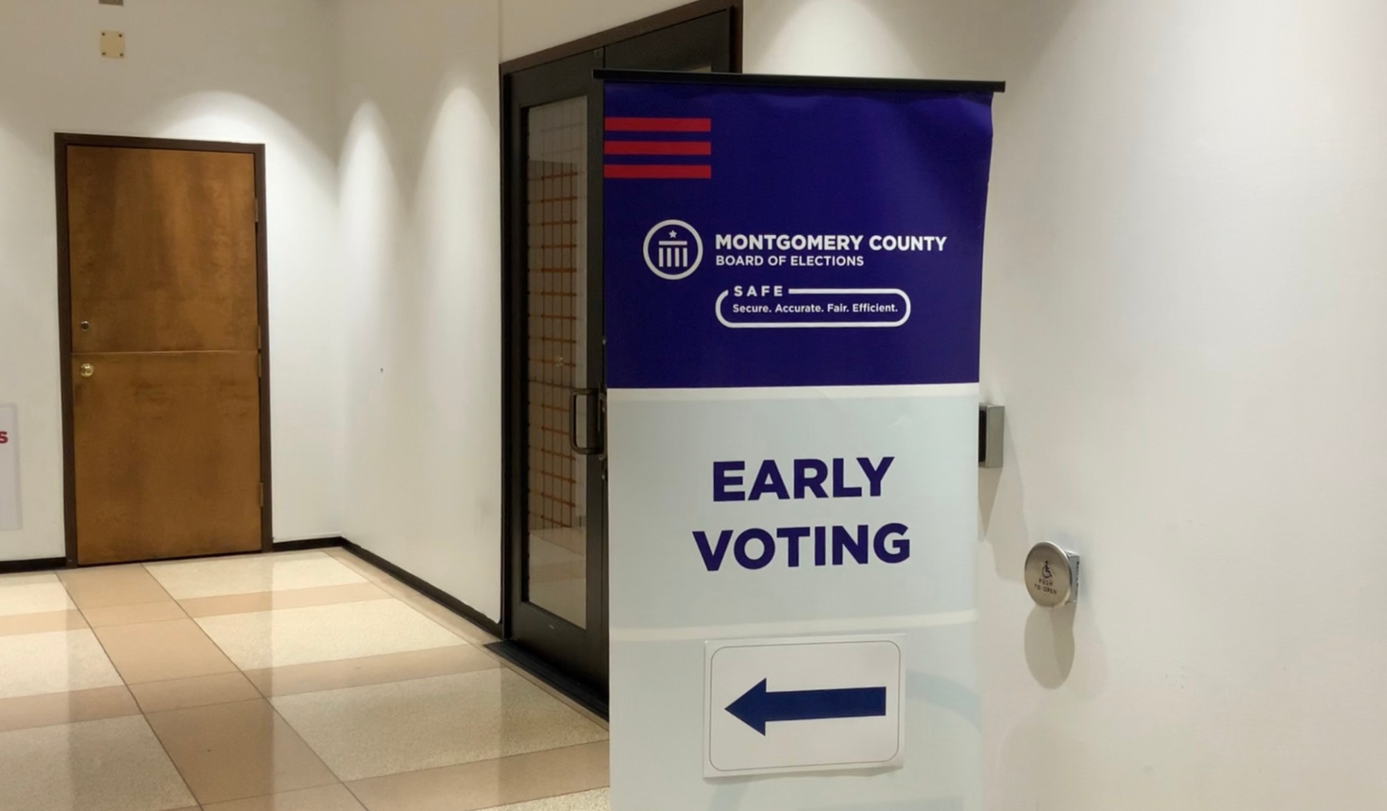 Montgomery County BOE early voting