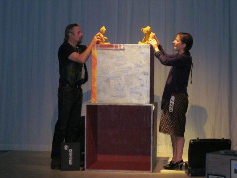 Arnold Bregt en Monique Hamers
