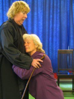 Sue Leusen en Marianne Maasman