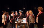 Susanne Dons, Esther v,d, Schouw, Ine Wiebenga, Karlijn Eggens, Els Ausema, Marieke Griffioen Heleen Hendriks, Tessa Kingma en Henk Vink