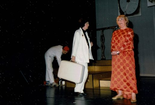 Dolf van Kampen, Elske Riemer en Sue Leusen