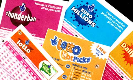 UK lottery tickets
