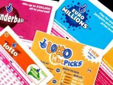 UK lottery tickets
