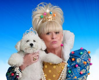 Barbara Windsor as the Queen of Bingo