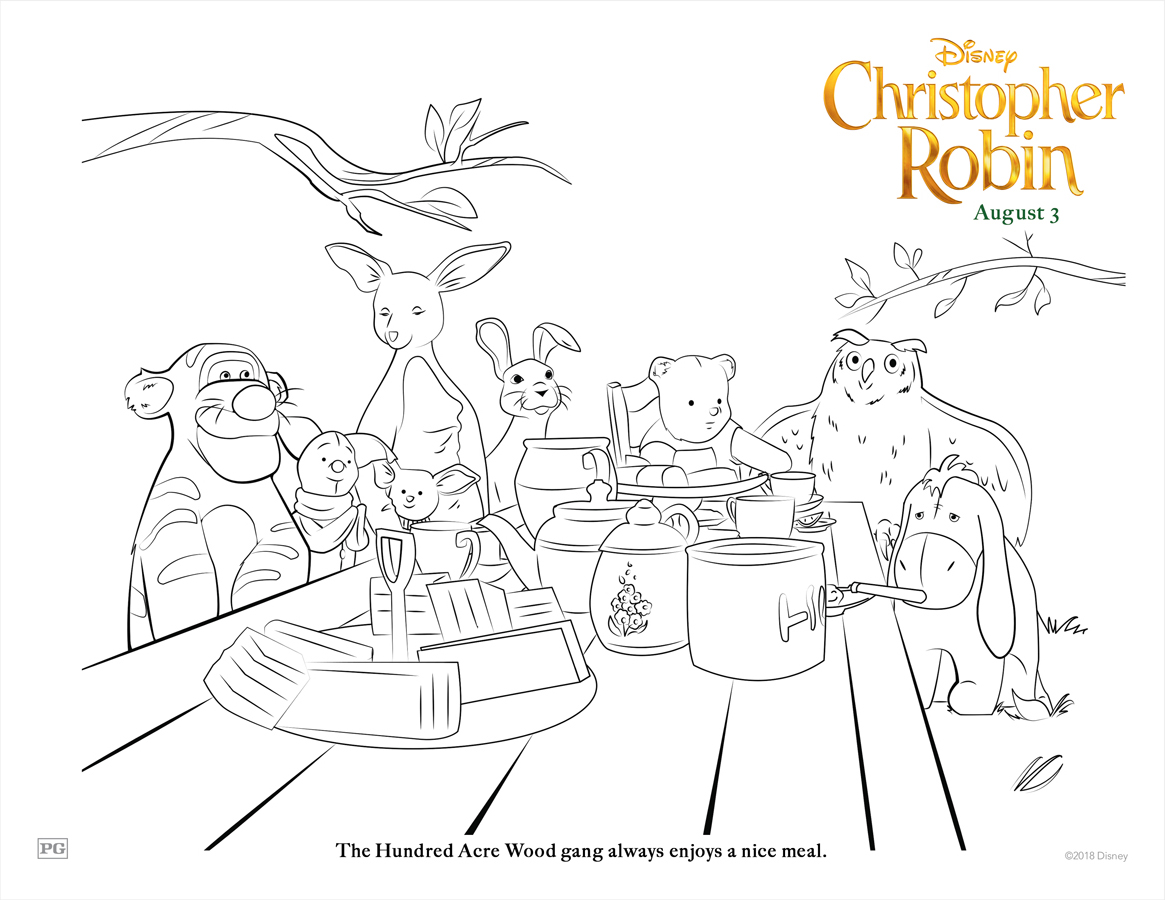 Printable Coloring And Activity Sheets From Disney S