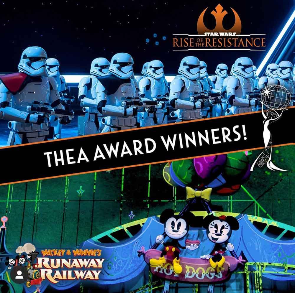 Atrações da Disney recebem prêmio internacional