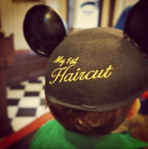 First Harcut at Harmony Barber Shop.