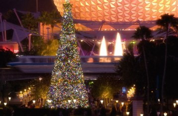 epcot christmas - disney