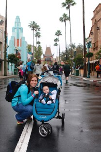 Disney with a Stroller