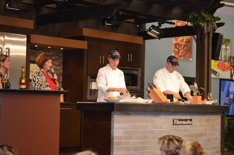 Disney Food and Wine festival Chefs Demonstration