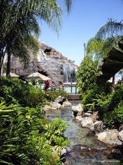 polynesian resort pool - kf