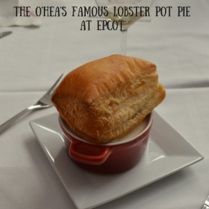 Lobster Pot pie at Epcot Food and Wine Chef O'hea