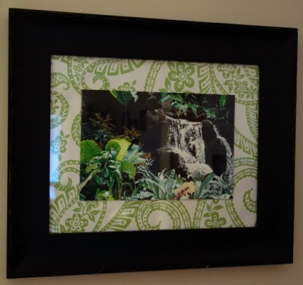 polynesian waterfall - kf