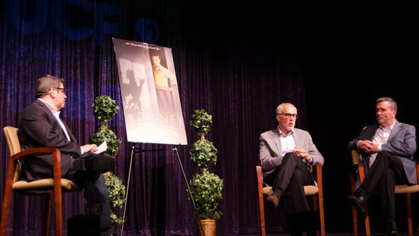 Lou Mongello Walt Disney An American Experience PBS panel WUCFTV