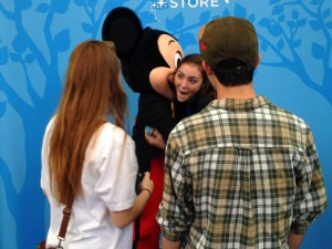 Mickey Mouse at Disney Store - Blake
