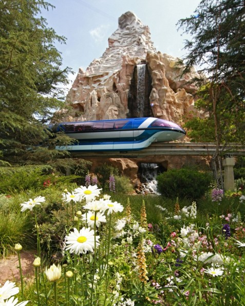 disneyland monorail - disney