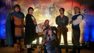 Dan _ Courteney with Leading Men, D Boyle