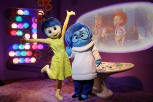 joy and sadness inside out - disney