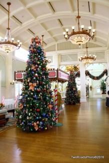 Walt Disney world Christmas Trees Boardwalk Inn