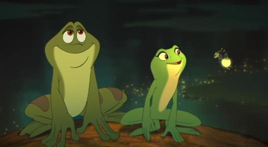 princess and the frog - disney